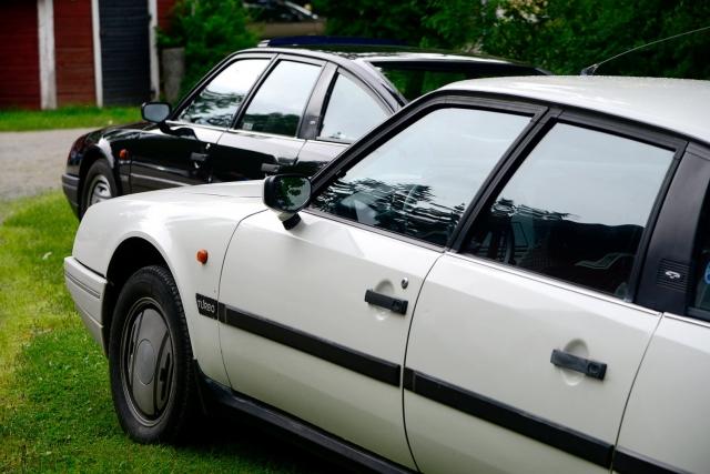 Citroën CX 25 GTi TURBO's